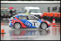 GC9_9219 (ladythorpe2) Tags: rainworth skoda dukeries rally 2019 donington park leicestershire car 6 karl simmons mark glennerster fabia r5 rain motorsport wet weather