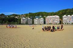 Día de playa (eitb.eus) Tags: eitbcom 16599 g1 tiemponaturaleza tiempon2019 playa gipuzkoa hondarribia josemariavega