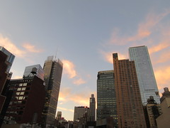 2019 October Orange Clouds and Virtual Clock Tower 5414 (Brechtbug) Tags: 2019 october clouds virtual clock tower turned off from hells kitchen clinton near times square broadway nyc 10132019 new york city midtown manhattan spring springtime weather building dark low hanging cumulonimbus cumulus nimbus cloud hell s nemo southern view