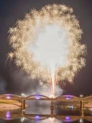 Photo of Kirkcudbright festival of light  fireworks.