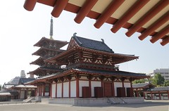 IMG_6515 (chazheng) Tags: osaka japan大阪 四天王寺 五重塔 asia city canon culture history art centuries traditions architecture landscape famous wonderful interesting perspective flickr attraction building fullframe street people temple