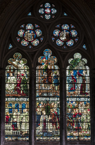 Lincoln Cathedral, window n.IV (2019 version)
