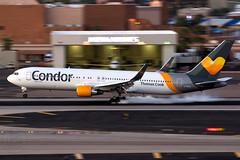 Condor 767-300ER D-ABUH (KoryC757) Tags: condor boeing 767300er phoenix skyharbor arizona phx dabuh thomascook