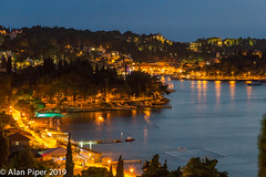 Cavtat by night (PapaPiper) Tags: cavtat nightscape nightscene night seascape port croatia europe