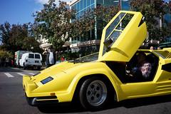 Lamborghini (dtanist) Tags: nyc newyork newyorkcity new york city sony a7 7artisans 35mm brooklyn bath beach bensonhurst columbus day parade italian american fiao lamborghini car vehicle yellow