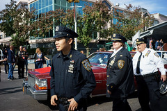 Auxiliary (dtanist) Tags: nyc newyork newyorkcity new york city sony a7 7artisans 35mm brooklyn bath beach bensonhurst columbus day parade italian american fiao auxiliary police cops nypd officers