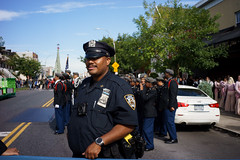 Cop (dtanist) Tags: nyc newyork newyorkcity new york city sony a7 7artisans 35mm brooklyn bath beach bensonhurst columbus day parade italian american fiao cop police officer nypd