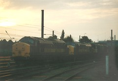 37886 Peterborough (trev9777) Tags: 37886 ews class37 englishelectric