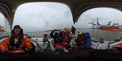 R0011552 (Povl) Tags: sailing cuyc panorama riverstour felixstowe ship skylark