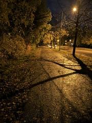 IMG_20191011_193511 (www.ilkkajukarainen.fi) Tags: evening ilta athmosphere tunnelma road tie espoo visit travel travelling happy life line suomi finland finlande eu europa scandinavia autumn syksy 2019