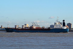 Bro Nibe  Liverpool  12-10-2019 (Joseph Collinson) Tags: liverpool mersey tanker october 2019 autumn outbound
