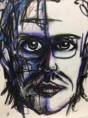 Ancient (school) self portrait (gavnosis) Tags: self portrait selfportrait