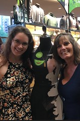 Valerie and Karen at Wicked