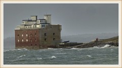 FORT ALBERT I.O.W. (mike ware) Tags: fort on isle of wight stormy seas