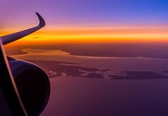 Sunset (Rami Khanna-Prade) Tags: a350 a359 dlh lufthansa lh437 ord muc