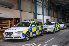 Staffordshire Volvos (S11 AUN) Tags: volvo team support police staffordshire s80 d5 v70 tactical staffs car traffic vehicle roads emergency tst unit 999 rpu policing anpr roadcrime vx61kvm vx12eyu vx13bde