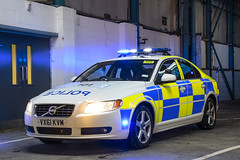 VX61 KVM (S11 AUN) Tags: staffordshire staffs police volvo s80 d5 tactical support team tst roadcrime anpr traffic car rpu roads policing unit 999 emergency vehicle vx61kvm