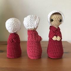 The Handmaid's Tale (MagneticMary) Tags: amigurumi crochet mywork thehandmaidstale kaminakapow
