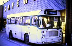 Slide 144-95 (Steve Guess) Tags: eastleigh hants hampshire england gb uk bus station solent blueline bristol lhs ecw fdv793v