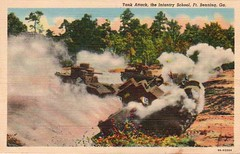 Tank Attack, The Infantry School, Ft. Benning, G.A. (Tier Historical Archive) Tags: military georgia benning fort attack tank