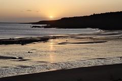 IMG_0748 (JessicaAKA.) Tags: sunrise sunshine morning shadows shadow light brightness scotland scottish eastsands beach ocean sea northsea sun