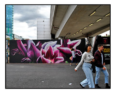 STREET ART by GRAFFITI LIFE (StockCarPete) Tags: flowers streetart graffitilife uk london graffiti urbanart shoreditch londongraffiti londonstreetart shoreditchart
