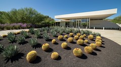 Sunnylands Visitor's Center Entrance (jtgfoto) Tags: sunnylands ranchomirage california gardens architecture landscapedesign design rokinon rokinon14mm sony sonyimages sonya7riii coachellavalley wideangle wideanglephotography