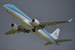 KLM Embraer E190 PH-EZS (Rob390029) Tags: klm embraer e190 phezs newcastle airport ncl egnt