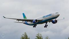 F-ORLY Air Caraïbes Airbus A330-300 Short Final Rwy24@CGN 28.9.19 (Guido Klöckner) Tags: cgn flugzeug rhein cologne köln bonn eddk plane aircraft vliegtuig luchthaven jet airliner airbus a330 aircaraïbes eos700d canon