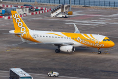 Scoot A320-232(WL) 9V-TRI 001 (A.S. Kevin N.V.M.M. Chung) Tags: aviation aircraft aeroplane airport airlines apron plane spotting mfm macauinternationalairport airbus a320 scoot