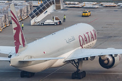QATAR AIRWAYS CARGO B777-F A7-BFF 00-7 (A.S. Kevin N.V.M.M. Chung) Tags: aviation aircraft aeroplane airport airlines apron plane spotting mfm macauinternationalairport qatar cargo boeing b777 b777f freight