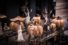 Creepy Castle (Selectivebits) Tags: halloween pumpkin castle ghost reflection 80