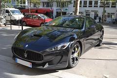 Maserati Granturismo MC Stradale (Monde-Auto Passion Photos) Tags: voiture vehicule auto automobile cars maserati granturismo mcstradale coupé noir black sportive supercar rare rareté france paris prestige