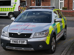 CIPHER Medical Rapid Response Vehicle YN10 FOP (Hullian111) Tags: cipher medical private ambulance service rapid response vehicle rrv yn10fop yn10 fop skoda octavia hull fair