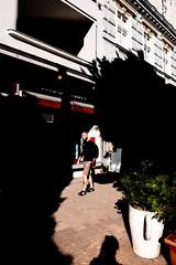 Creeping shadows (deanbostrom) Tags: wien europesummer street contrast europe shadows streetphotography fujifilm vienna austria österreich colourful
