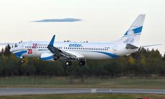 Enter SP-ENX, OSL ENGM Gardermoen (Inger Bjørndal Foss) Tags: spenx enter boeing 737 osl engm gardermoen