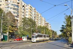 4032 - 1 - 13.10.2019 (VictorSZi) Tags: romania bucharest bucuresti transport tram tramvai nikon nikond5300 autumn toamna october octombrie dudesti stb