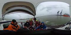 R0011551 (Povl) Tags: sailing cuyc panorama riverstour felixstowe ship skylark