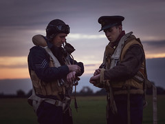Synchronize your watches (davepickettphotographer) Tags: synchronize watches time timline events ukj east lincolnshire eastern reenactment flight aircrew raf bomber boys eastkirby lincs heritage aviation pilot secondworldwar ww2 reenactors airmuseum museum justjane lancaster bombercommand night shoot photography airfield aeroplane