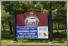 Electric City Trolley Museum Sign (uslovig) Tags: lackawanna county electric city trolley museum john oliver train station schild sign scranton pennsylvania pa usa america amerika