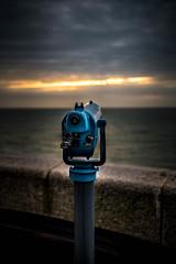 Look Out - Folkestone Pier (andrew_camin) Tags: telescope pier morning light sunrise