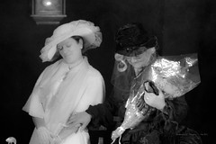 Time effect (EmArt baudry) Tags: theater théâtre composition costume tradition traditionalcostume oldtime tempsanciens portrait boucoiranetnozières gard noiretblanc blackandwhite nikon emart emmanuellebaudry occitanie femme woman