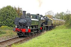 6412 GWR 0-6-0PT (Roger Wasley) Tags: 6412 gwr 060pt 53808 class 7f watchet station wsr west somerset railway steam locomotive train heritage preserved preservation