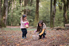 DSCF7876-rt (capturedbyflo) Tags: chestnutpicking chestnuts chataignes chataigne france outdoor balade nature kids kid portrait fuji fujifilm forest foret montmussy divonne