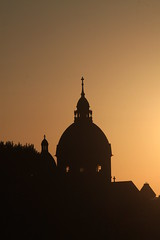 St. Lukas (Lehel) (CA_Rotwang) Tags: münchen bauwerk architektur munich bavaria bayern germany deutschland altstadt historic sonnenuntergang sunset sun sonne