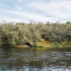 D&L Trail (broodingelm) Tags: sky trees river dltrail