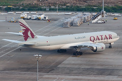 QATAR AIRWAYS CARGO B777-F A7-BFF 00-5 (A.S. Kevin N.V.M.M. Chung) Tags: aviation aircraft aeroplane airport airlines apron plane spotting mfm macauinternationalairport qatar cargo boeing b777 b777f freight