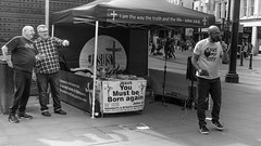FX307456-1 (Lawrence Holmes.) Tags: fuji x30 streetphotography street blackandwhite religion manchester uk lawrenceholmes