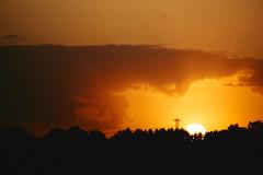 sunset (Jos Mecklenfeld) Tags: sunset sonnenuntergang zonsondergang landscape landschaft landschap westerwolde niederlande nederland sonya6000 sonyilce6000 sonye55–210mmf45–63oss sel55210 terapel groningen netherlands
