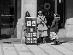FX307412-1 (Lawrence Holmes.) Tags: fuji x30 streetphotography street blackandwhite religion manchester uk lawrenceholmes